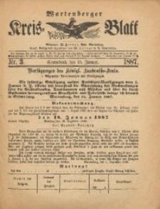 Wartenberger Kreis-Blatt, 1887, Nr. 3