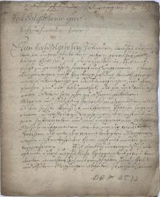 Pismo firmy Brander & Höschel z Augsburga z 3.11.1779 r. do [Józefa] Wussina, dyrektora dróg przy Gubernium morawsko-śląskim w Brnie w sprawie przyrządów mierniczych oraz ich cen