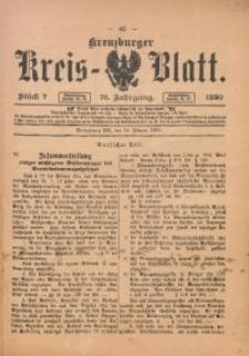 Kreuzburger Kreis-Blatt, 1920, Jg. 76, St. 7