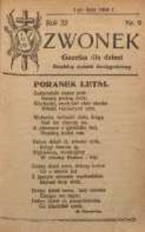 Dzwonek, 1924, R. 22, nr 9