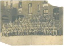 Grupa żołnierzy najprawdopodobniej Armii Pruskiej