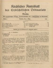 Kirchliches Amtsblatt des Erzbischöflichen Ordinariats in Breslau, 1931, Stück 6