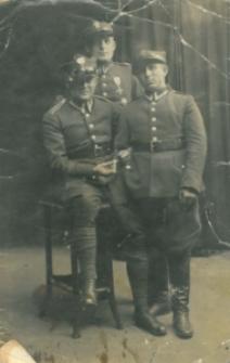 Grupa żołnierzy 7 kompanii podoficerów rezerwy 9 Pułku Piechoty Legionów z Zamościa