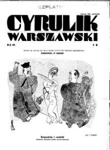 Cyrulik Warszawski, 1932, R. 7, nr 3