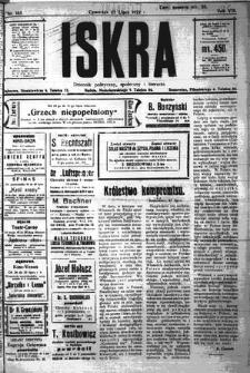 Iskra. Dziennik polityczny, społeczny i literacki, 1922, R. 13, nr 165