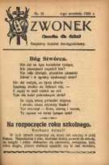 Dzwonek, 1928, [R. 26], nr 21