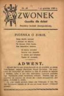 Dzwonek, 1928, [R. 26], nr 29