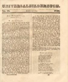 Universalbilderbuch, 1836, No. 18