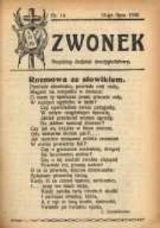 Dzwonek, 1930, [R. 28], nr 14