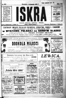 Iskra. Dziennik polityczny, społeczny i literacki, 1922, R. 13, nr 248