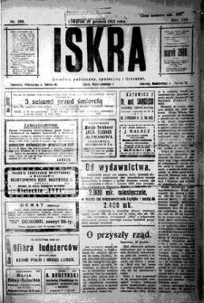 Iskra. Dziennik polityczny, społeczny i literacki, 1922, R. 13, nr 289