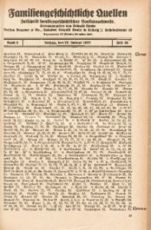 Familiengeschichtliche Quellen, 1926/1927, Bd. 2, H. 16 (Gran-Gzecz)