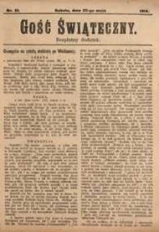 Gość Świąteczny, 1914, nr 21