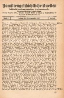 Familiengeschichtliche Quellen, 1926/1927, Bd. 2, H. 48 (Wiele-Wreh)