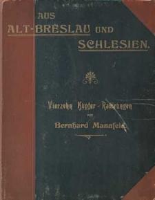 Aus Alt-Breslau und Schlesien -okładka i strona tytułowa