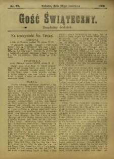 Gość Świąteczny, 1916, nr 25