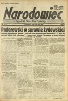 Narodowiec, 1938, R. 2, nr 31
