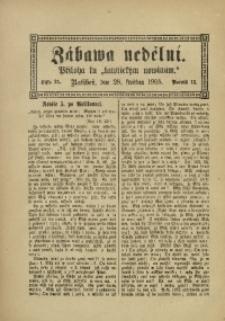 Zábawa Nedělní, 1905, R. 13, č. 21