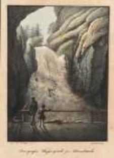 Der grosse Wasserfhall zu Adersbach