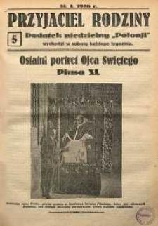 Przyjaciel Rodziny, 1926, nr 5