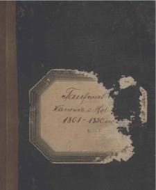 Tauf matrike 1801-1850.