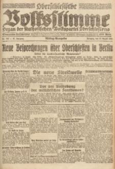 Oberschlesische Volksstimme, 1921, Jg. 47, Nr. 282
