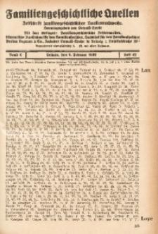 Familiengeschichtliche Quellen, 1931/1932, Bd. 6, H. 42 (Lon-Mäkel)