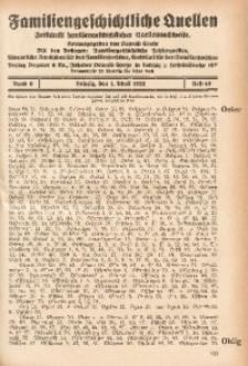 Familiengeschichtliche Quellen, 1931/1932, Bd. 6, H. 49 (Oeler-Pack)