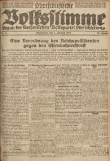 Oberschlesische Volksstimme, 1922, Jg. 48, Nr. 33