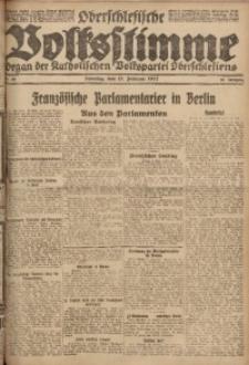 Oberschlesische Volksstimme, 1922, Jg. 48, Nr. 49