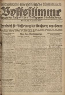 Oberschlesische Volksstimme, 1922, Jg. 48, Nr. 52