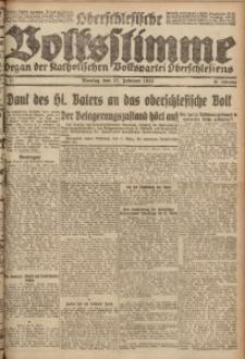 Oberschlesische Volksstimme, 1922, Jg. 48, Nr. 57
