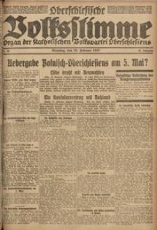 Oberschlesische Volksstimme, 1922, Jg. 48, Nr. 58