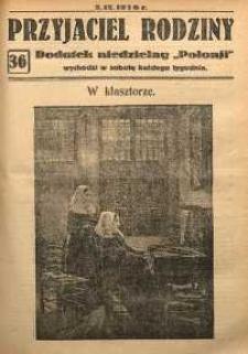Przyjaciel Rodziny, 1926, nr 36