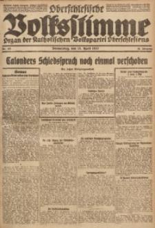 Oberschlesische Volksstimme, 1922, Jg. 48, Nr. 101