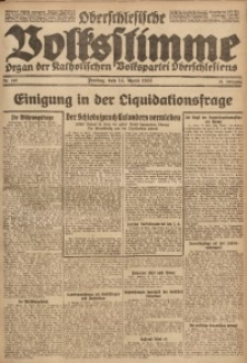 Oberschlesische Volksstimme, 1922, Jg. 48, Nr. 102