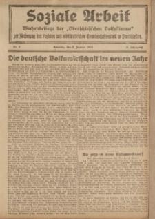 Soziale Arbeit, 1922, Jg. 3, nr 2