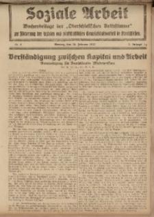 Soziale Arbeit, 1922, Jg. 3, nr 8