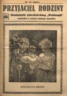 Przyjaciel Rodziny, 1926, nr 46
