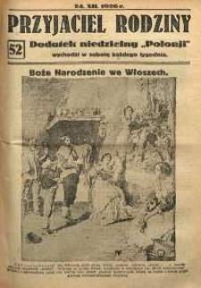 Przyjaciel Rodziny, 1926, nr 52