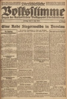 Oberschlesische Volksstimme, 1922, Jg. 48, Nr. 153