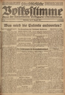 Oberschlesische Volksstimme, 1922, Jg. 48, Nr. 210