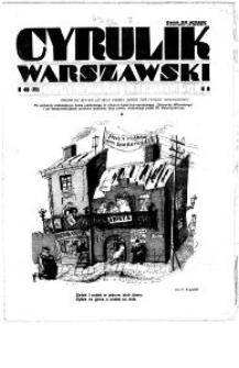 Cyrulik Warszawski, 1933, R. 8, nr 48