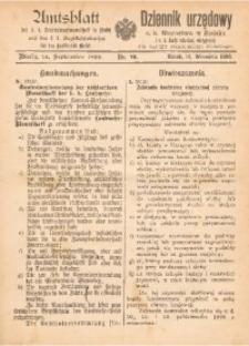 Amts-Blatt der k. k. Bezirkshauptmannschaft in Bielitz und des k. k. Bezirkschulrathes für den Landbezirk Bielitz, Jg. 1899, Nr. 10