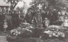 Pogrzeb na cmentarzu najprawdopodobniej w Piekarach Śląskich lub okolicy