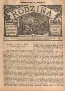 Rodzina, 1890, R. 5, nr 5