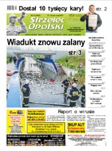 Strzelec Opolski : twój tygodnik regionalny : Strzelce Opolskie, Izbicko, Jemielnica, Kolonowskie, Leśnica, Ujazd, Zawadzkie, Toszek 2020, nr 23 (1081).