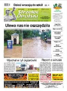 Strzelec Opolski : twój tygodnik regionalny : Strzelce Opolskie, Izbicko, Jemielnica, Kolonowskie, Leśnica, Ujazd, Zawadzkie, Toszek 2020, nr 33 (1091).