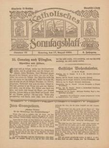Katholisches Sonntagsblatt, 1924, Jg. 2, nr 33