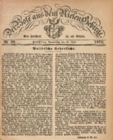 Der Bote aus dem Riesen-Gebirge, 1870, Jg. 58, Nr. 68